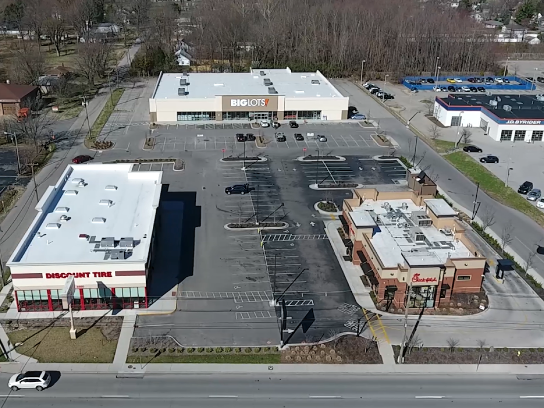 DIXIE HWY Chick-fil-A, Big Lots, Tire Discounters